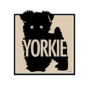 Yorkshire Terrier Digital Art - Yorkie Tan by Geoff Strehlow
