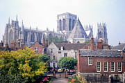 Chapter House Framed Prints - Yorkminster Abbey York England Framed Print by Richard Singleton