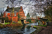 Yorkshire Bridge Framed Prints - Yorkshire Cottage Framed Print by Dawn OConnor