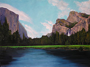 Dome Paintings - Yosemite by Barbara Willey