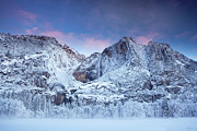 Cold Temperature Art - Yosemite Falls by Jesse Estes