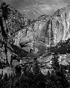 Mariposa County Prints - Yosemite Falls Print by Troy Montemayor