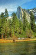  Cathedral Rock Prints - Yosemite Print by Marc Bittan