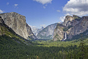 Tunnel View Prints - Yosemite National Park - California Print by Brendan Reals