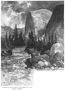 Thomas Moran Prints - Yosemite National Park Print by Granger