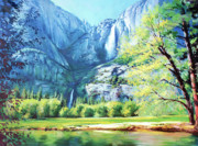 Liberty Paintings - Yosemite Park by Conor McGuire