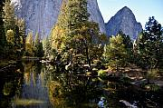 Yosemite National Park Digital Art - Yosemite Reflections 3 by Vijay Sharon Govender