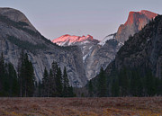 High Sierra Metal Prints - Yosemite Sunset Metal Print by Stephen  Vecchiotti