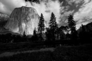Merced River Prints - Yosemite Valley and El Capitan Print by Chris Brewington