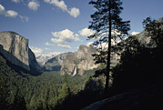 Tunnel View Prints - Yosemite Valley From Tunnel View Print by Gordon Wiltsie