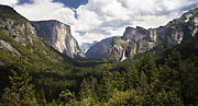 Yosemite National Park Digital Art - Yosemite Valley view by Dewain Maney