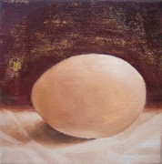 You Are A Very Good Egg Print by Irene Corey