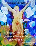 You Are Powerful Print by Alma Yamazaki