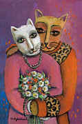 Janice Hightower Art - You Are Purrrrrfect--Dont Change A Thing by Janice Hightower