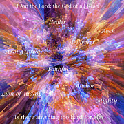 Library Digital Art - You Are The Lord by Margie Chapman