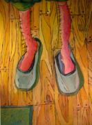 Humor. Painting Originals - You Can Always Paint Your Legs by Charlie Spear