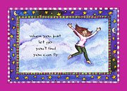 Pamela Corwin Art - You Can Fly by Pamela  Corwin