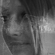 Haunted House  Digital Art - You Cant Go Home Again by Leslie Revels Andrews