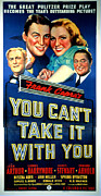 Films By Frank Capra Posters - You Cant Take It With You, Lionel Poster by Everett