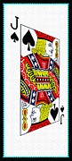 Playing Cards Framed Prints - You Dont Know Jack Framed Print by Bill Cannon
