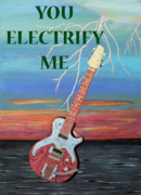 Liverpool Mixed Media - You Electrify Me by Eric Kempson