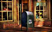 Mail Box Photo Metal Prints - You Got Mail Metal Print by Todd Hostetter