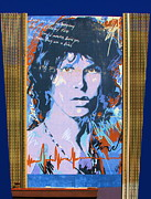 Jim Morrison Photo Prints - You Know Him Print by Viktor Savchenko