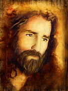 Jesus Mixed Media Prints - You Love Them - 2 Print by Shevon Johnson