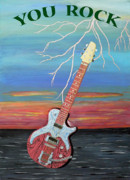 Fathers Paintings - You Rock by Eric Kempson
