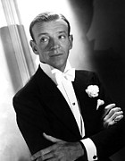 Lapel Framed Prints - You Were Never Lovelier, Fred Astaire Framed Print by Everett