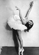 Ballet Dancer Photo Posters - Young Ballerina Poster by Fpg