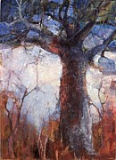 Baobab Paintings - Young Baobab by Wendy Rosselli