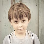 Young Boy Print by Tom Gowanlock