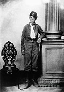 Confederacy Prints - Young Confederate Soldier Print by Photo Researchers