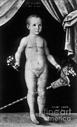 Nude Child Art Prints - Young Felix Plater, Swiss Physician Print by Science Source