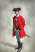 Fort Ligonier Posters - Young George Washington Portrait  Poster by Randy Steele