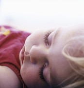 Young Girl Sleeping Print by Cristina Pedrazzini