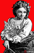 Gianni Sarcone - Young Girl With Cat