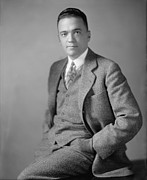 Fbi Prints - Young J. Edgar Hoover Ca. 1925 Print by Everett