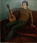 Dionisii Donchev - Young man with mandolin