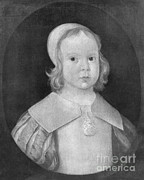 Ruler Posters - Young Oliver Cromwell Poster by Photo Researchers