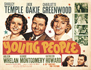 Charlotte Prints - Young People, Shirley Temple, Jack Print by Everett