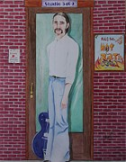 Guitar Player Pastels Posters - Young Rickie Poster by Carolyn Ardolino