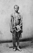 African Americans Framed Prints - Young Slave During The Civil War Framed Print by Everett