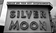 Silver Moon Drive In Prints - Your Best Entertainment Print by David Lee Thompson
