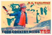 Quote Posters Prints - Your Country Needs You - Travel Posters Print by Dapixara Art