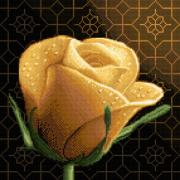 Cross Tapestries - Textiles Posters - Your Rose Poster by Stoyanka Ivanova