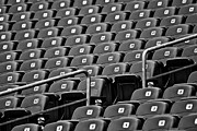 Stadium Seats Art - Your Seat Awaits by Colleen Coccia