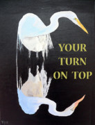 Salt Flats Mixed Media - Your Turn On Top by Eric Kempson