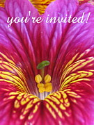 Inside You Posters - Youre Invited Poster by Tina Marie